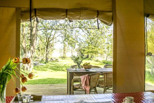 Safaritenten Voedselbron Graauw