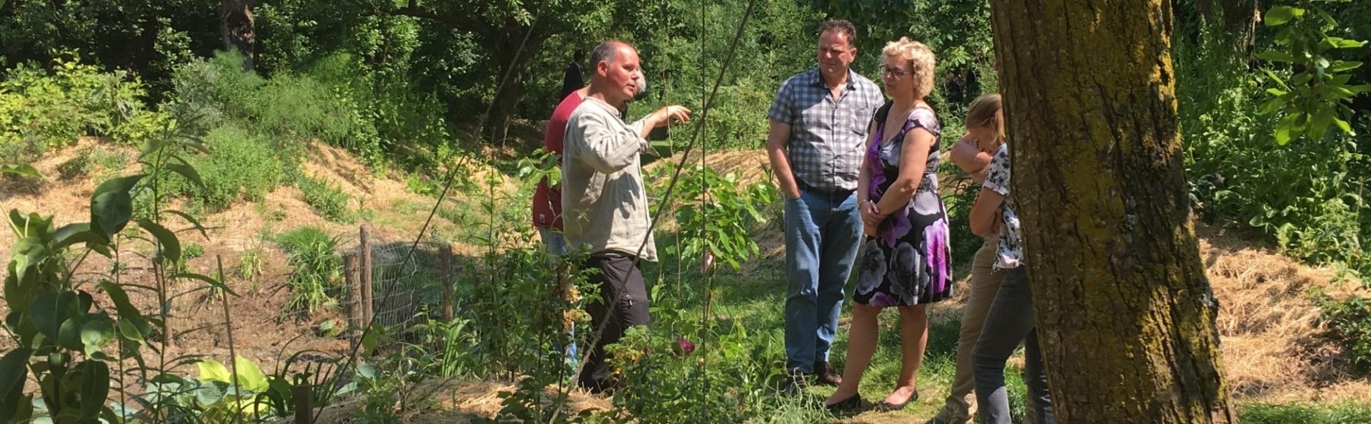Voedselbron Graauw rondleidingen voedselbos